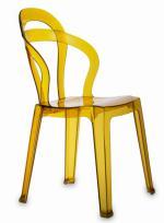 Жълт дизайнерски стол