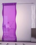 плъзгащи стъклени интериорни врати висококачествени