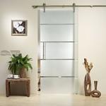 нечупливи  стъклени плъзгащи врати