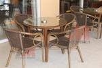 Качествени столове от бамбук за вила
