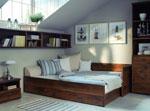 Поръчкова спалня с чекмедже под матрака