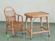 Детски стол от ракита