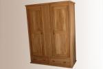 Дъбов състарен гардероб