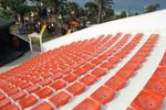 Седалки за спортни трибуни