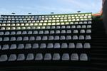 Полипропиленови седалки за външни трибуни